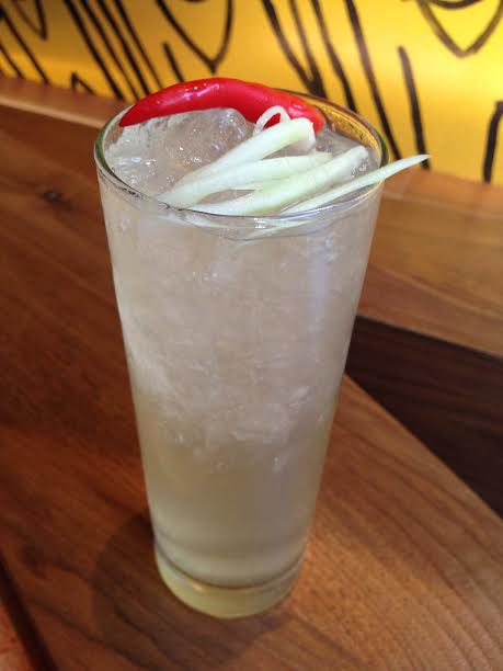 The Som Tum Sling at Soi 38 is a tongue tingling tipple. Photo courtesy Soi 38.