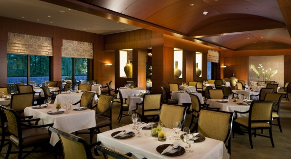 Herons is the hotel's signature restaurant. Photo courtesy of The Umstead.