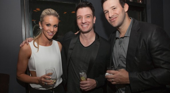 Candice Crawford-Romo, JC Chasez and Tony Romo  (Photo by Teresa Kroeger/Getty Images for Eric Podwall)