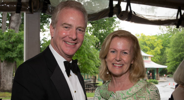 Honorary Gala Chair Ambassador Anne Anderson of the Embassy of Ireland with U.S. Congressman Chris Van Hollen