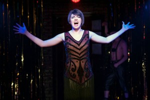Barrett Wilbert Weed (Sally) in Cabaret at Signature Theatre. Photo by Margot Schulman