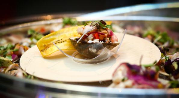 The winning dish (Photo by Tony Powell)