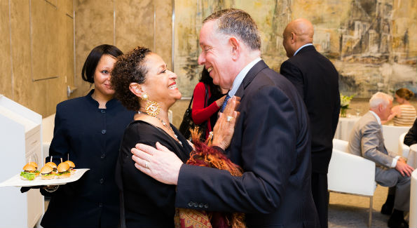 Debbie Allen & Michael Kaiser (Photo by Yassine El Mansouri)