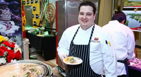Embassy of Venezuela Chef Manuel Rodriguez (Photo by Tony Powell)