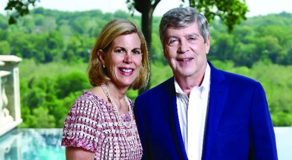 Martha and Dwight Schar (Photo by Tony Powell)
