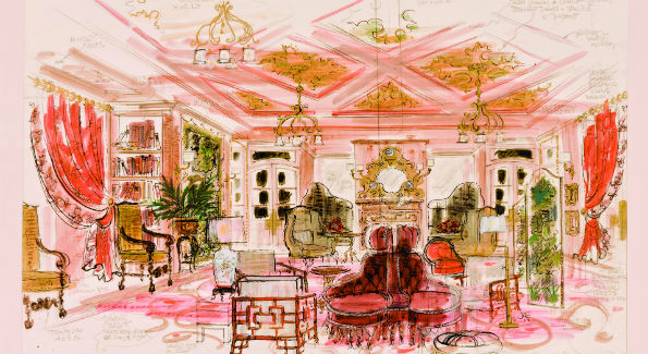 The Inn at Little Washington image (Illustration by Gordon Beall)