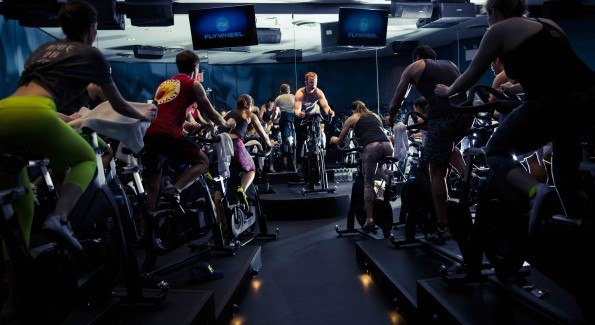 Get ready for two intense weeks at Flywheel. (Photo courtesy Flywheel)