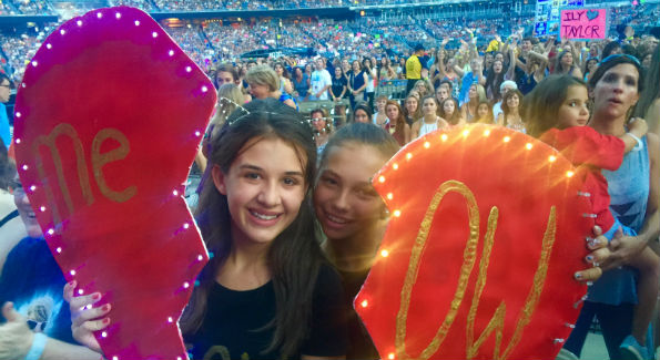 Taylor Swift fans (Photo by John Arundel)