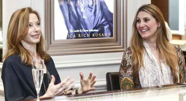 Monica Rich Kosann and VIrginia Coyne (Photo by Tony Powell)