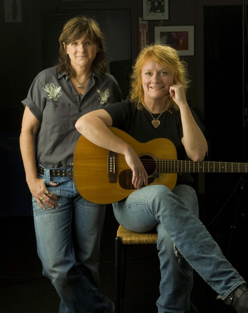 """Amy Ray (L) and Emily Saliers have a new record out, """"One Lost Day"""" (Photo Courtesy of The Indigo Girls)"""
