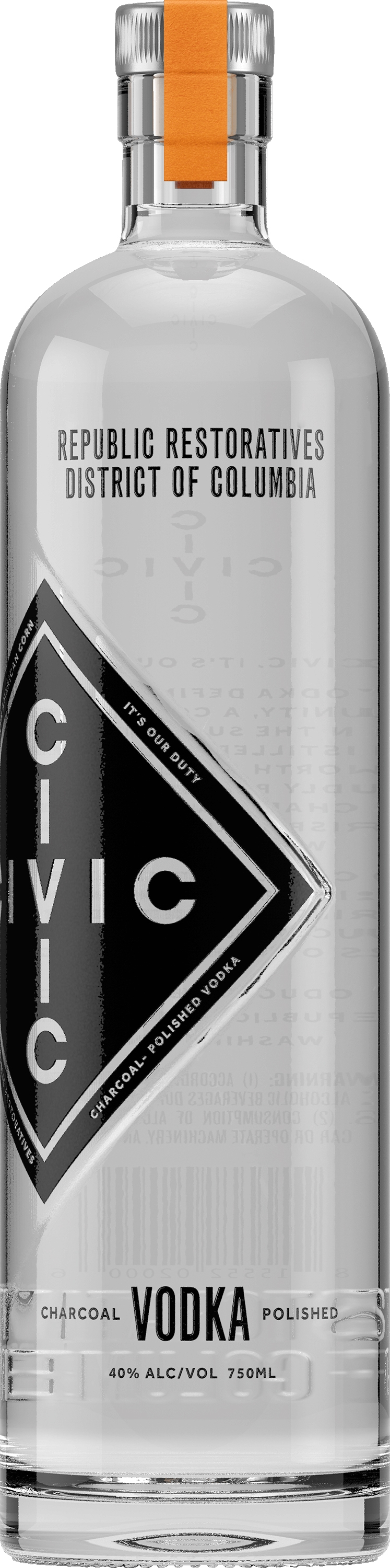 Republic Restoratives Civic Vodka ($ 27.99)