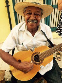 Smiling Cuban guy