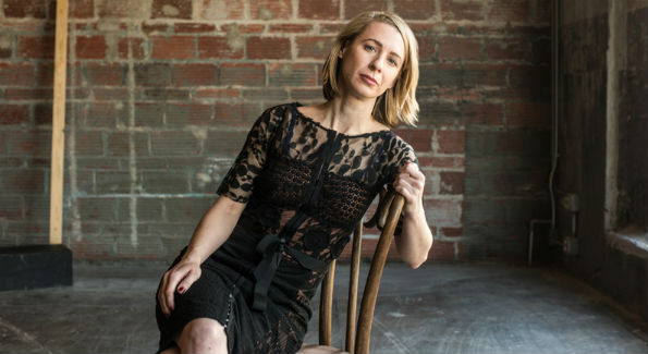 Hedda Gabler cast member Julia Coffey as Hedda Tesman (Photo by Teddy Wolff)