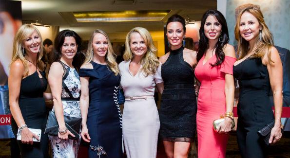 Jean-Marie Fernandez, Jodi McDermott, Cindy Jones, Jamie Dorros, Kristin Cecchi, Amy Baier and Jocelyn Greenan (Photo by Erin Schaff)