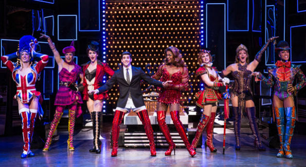 """Kinky Boots"" runs at the Kennedy Center through July 10 (Photo by Matthew Murphy)"