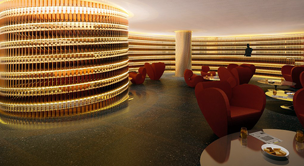 Inside the newly remodeled Watergate Hotel (Photo Courtesy of the Watergate Hotel)