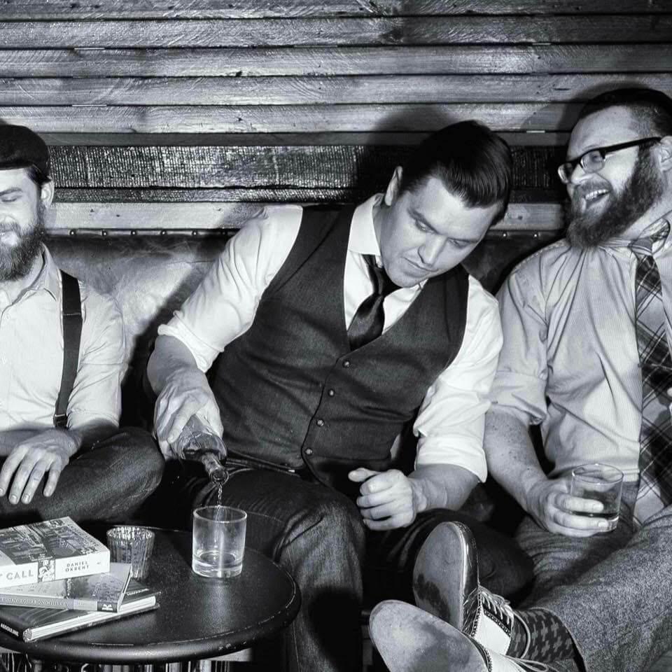 Trevor Frye (center) of Wash Line LLC and Dram & Grain. Photo credit Trevor Frye.