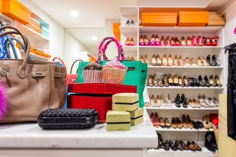 Kallinis Berman's closet is a fashionista's dream.