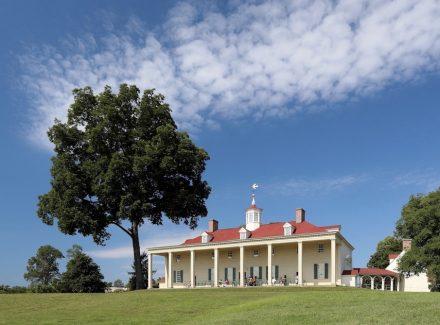 The Washington Estate at Mount Vernon boasts extensive yard space for Halloween fun.