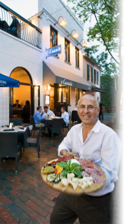 Joe Farruggio, owner of the Il Canale pizzeria and restaurant on 31st street. (Photo credit Il Canale website)