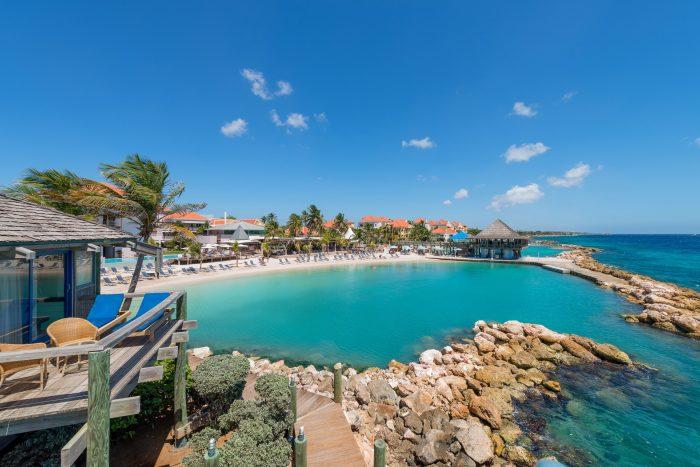 Avila Beach Hotel has a private lagoon. Photo credit Avila Beach Hotel.