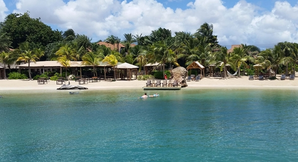 Baoase Luxury Resort is Curaçao's only five-star resort. Photo credit Kelly Magyarics.