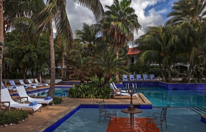 Floris Suite Hotel & Spa is one of the island's most LGBT-friendly properties. Photo credit Floris Suite Hotel & Spa.