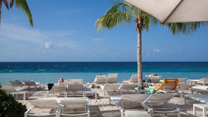 Stay at Papagayo Beach Resort, and have access to the trendy Papagayo Beach Club. Photo credit Papagayo Beach Club.